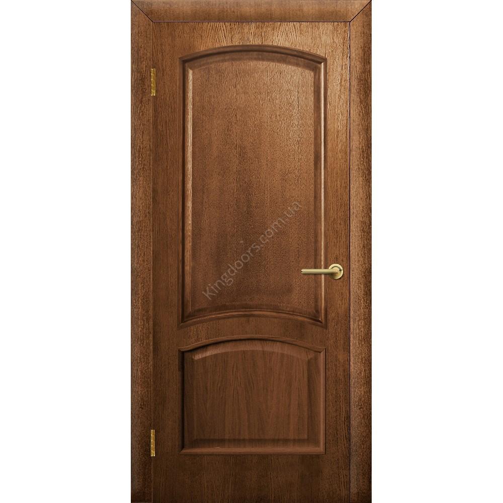 Входные металлические двери с отделкой массив дуба