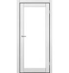 """Межкомнатные двери ART 01-02. Пленка ПВХ. Фабрика """"Art Door"""". Цвет каштан"""