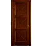 """Межкомнатные шпонированные двери """"Адант"""" ПО.  Двери Белоруссии. Цвет - дуб тонированный"""