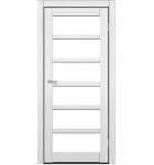 """Межкомнатные двери ART 08-02. Пленка ПВХ. Фабрика """"Art Door"""". Цвет зебрано"""