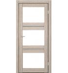 """Межкомнатные двери M 202. Пленка ПВХ. Фабрика """"Art Door"""". Цвет орех"""