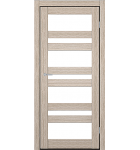 """Межкомнатные двери CTD 212. Пленка ПВХ. Фабрика """"Art Door"""". Цвет беленый дуб"""