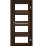 "Межкомнатные двери M 302. Пленка ПВХ. Фабрика ""Art Door"". Цвет каштан"