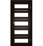 """Межкомнатные двери M 402. Пленка ПВХ. Фабрика """"Art Door"""". Цвет орех"""