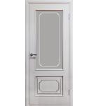 """Межкомнатные шпонированные двери """"Серебрянка"""" ПО.  Двери Белоруссии. Цвет - белый лак"""