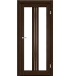 """Межкомнатные двери M 802. Пленка ПВХ. Фабрика """"Art Door"""". Цвет орех"""