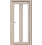 """Межкомнатные двери M 802. Пленка ПВХ. Фабрика """"Art Door"""". Цвет беленый дуб"""