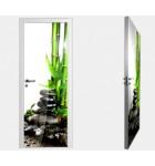 """Межкомнатные стеклокаркасные двери. Модель """"04 F"""". Фабрика Аксиома. Покрытие зеркало. фотопечать"""