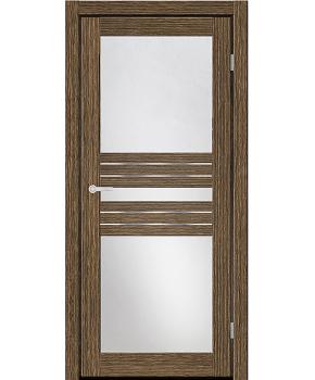 """Межкомнатные двери M 32. Пленка ПВХ. Фабрика """"Art Door"""". Цвет зебрано"""