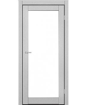 """Межкомнатные двери ART 01-02. Пленка ПВХ. Фабрика """"Art Door"""". Цвет металлик"""