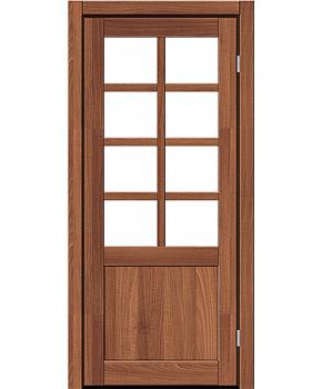 """Межкомнатные двери RTR 02. Пленка ПВХ. Фабрика """"Art Door"""". Цвет орех"""