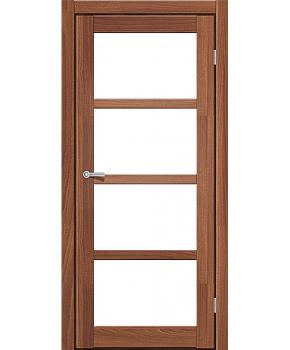 """Межкомнатные двери ART 04-02. Пленка ПВХ. Фабрика """"Art Door"""". Цвет орех"""