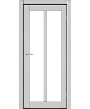 """Межкомнатные двери ART 05-02. Пленка ПВХ. Фабрика """"Art Door"""". Цвет металлик"""