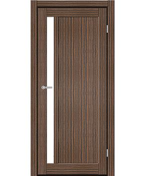 """Межкомнатные двери ART 06-05. Пленка ПВХ. Фабрика """"Art Door"""". Цвет зебрано"""