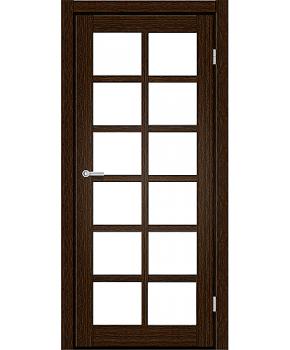 "Межкомнатные двери RTR 06. Пленка ПВХ. Фабрика ""Art Door"". Цвет каштан"
