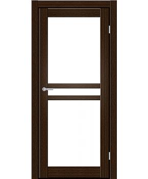 """Межкомнатные двери ART 07-02. Пленка ПВХ. Фабрика """"Art Door"""". Цвет каштан"""