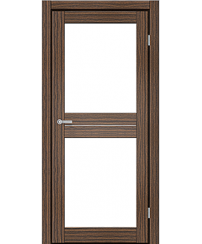 """Межкомнатные двери M 102. Пленка ПВХ. Фабрика """"Art Door"""". Цвет зебрано"""