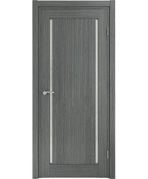 """Межкомнатные шпонированные двери """"Твинс"""" ПО.  НСД. Цвет - грей"""