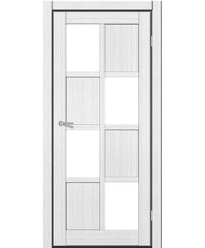 """Межкомнатные двери RTR 13. Пленка ПВХ. Фабрика """"Art Door"""". Цвет белый"""