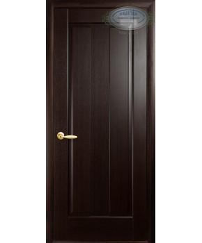 """Межкомнатные двери """"Премьера"""",ПГ, пленка ПВХ, фабрика """"Новый стиль"""", цвет - венге."""
