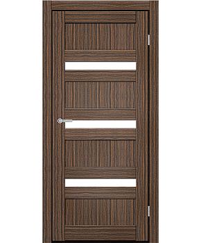 """Межкомнатные двери CTD 213. Пленка ПВХ. Фабрика """"Art Door"""". Цвет зебрано"""