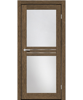 """Межкомнатные двери M 22. Пленка ПВХ. Фабрика """"Art Door"""". Цвет зебрано"""