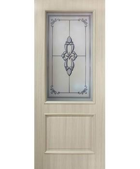 """Межкомнатные двери """"Версаль"""" ПО. Фабрика Омис. Покрытие пленка ПВХ. Цвет - дуб беленый"""