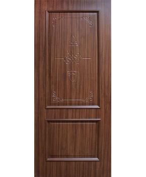 """Межкомнатные двери """"Версаль"""" ПГ. Фабрика Омис. Покрытие пленка ПВХ. Цвет - орех"""