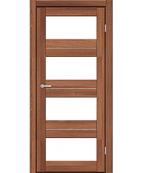 """Межкомнатные двери M 302. Пленка ПВХ. Фабрика """"Art Door"""". Цвет орех"""