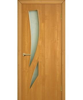 """Межкомнатные двери """"Фиеста"""" ПО. Фабрика Омис. Ламинированные. Цвет - ольха"""