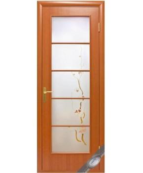 """Межкомнатные ламинированные двери """"Виктория"""",ПО+Р1. фабрика """"Новый стиль"""", цвет - ольха"""