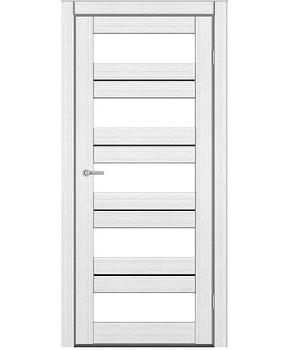 """Межкомнатные двери M 402. Пленка ПВХ. Фабрика """"Art Door"""". Цвет белый"""