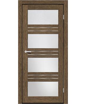 """Межкомнатные двери M 42. Пленка ПВХ. Фабрика """"Art Door"""". Цвет зебрано"""