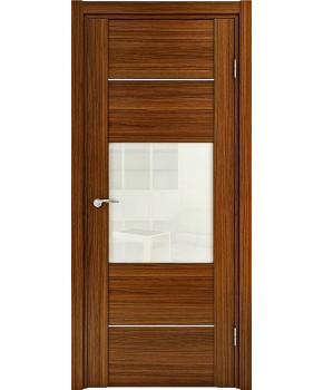 """Межкомнатные шпонированные двери """"Кэмбридж"""" ПО.  НСД. Цвет - вишня"""