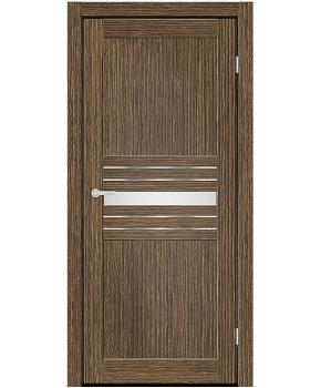 """Межкомнатные двери M 52. Пленка ПВХ. Фабрика """"Art Door"""". Цвет зебрано"""