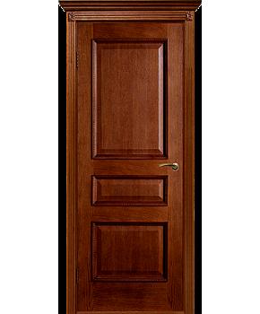 """Межкомнатные шпонированные двери """"Вена - Ш"""" ПГ.  Двери Белоруссии. Цвет - орех"""