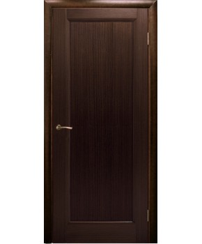 """Межкомнатные шпонированные двери """"Максима"""" ПО.  НСД. Цвет - венге шоколад"""