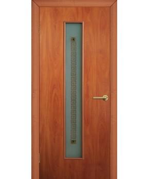 """Межкомнатные двери """"Паллада 2"""" ПО . Фабрика Омис. Ламинированные. Цвет - груша"""