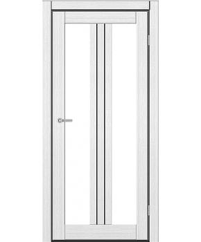 """Межкомнатные двери M 802. Пленка ПВХ. Фабрика """"Art Door"""". Цвет белый"""