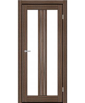 """Межкомнатные двери M 802. Пленка ПВХ. Фабрика """"Art Door"""". Цвет зебрано"""