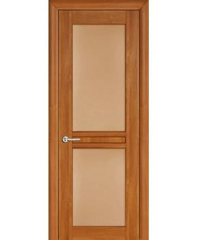 """Межкомнатные шпонированные двери """"Нью - Йорк Сити"""" ПОО.  НСД. Цвет - анегри"""