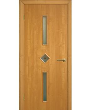 """Межкомнатные двери """"Диадема"""" ПО с фьюзингом. Фабрика Омис. Ламинированные. Цвет - ольха"""