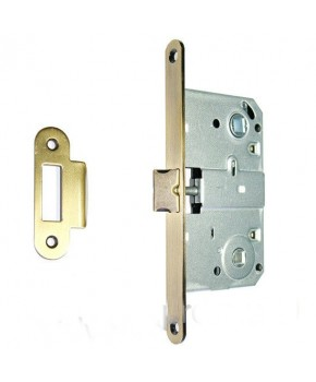 Дверной врезной механизм под поворотник. Цвет золото