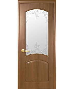 """Межкомнатные двери """"Аве"""",ПО +Р1. пленка ПВХ, фабрика """"Новый стиль"""", цвет - золотая ольха"""