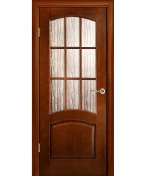 """Межкомнатные шпонированные двери """"Капри"""" ПС.  Галерея дверей. Цвет - тон"""