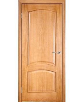 """Межкомнатные шпонированные двери """"Капри"""" ПГ.  Галерея дверей. Цвет - дуб"""