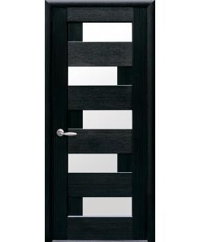 """Межкомнатные двери """"Пиана"""",ПО, пленка ПВХ, фабрика """"Новый стиль"""", цвет - венге new"""
