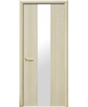 """Межкомнатные двери """"Сахара 1 Z"""",ПГ. пленка ПВХ, фабрика """"Новый стиль"""", цвет - ясень"""