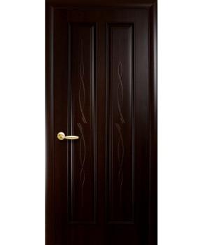 """Межкомнатные двери """"Стелла"""",ПГ, пленка ПВХ, фабрика """"Новый стиль"""", цвет - венге."""