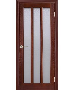 """Межкомнатные шпонированные двери """"Трояна 3"""" ПС.  Галерея дверей. Цвет - тон"""